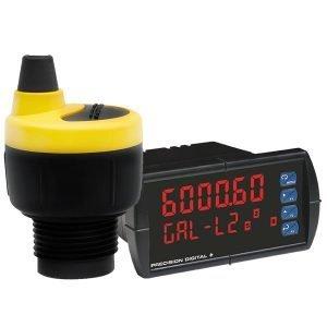 Medição Vazão Canal Aberto Transmissor Ultrassônico