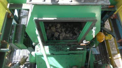 Medição de densidade em jig pneumático de separação de carvão com medidor LB 414